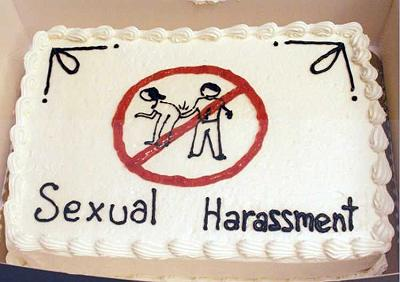 sexual harassment cake